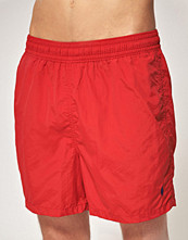 Polo Ralph Lauren Röda hawaii badshorts