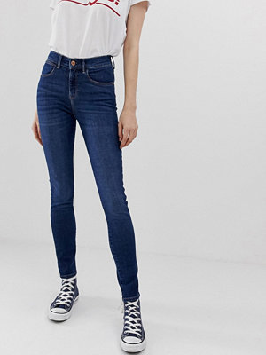 Wrangler Skinny jeans med hög midja Blue pike
