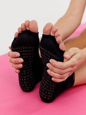 Calvin Klein Performance Svarta yoga byxor med muddar