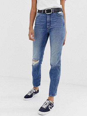Wrangler Icon 11wwz Mom jeans med slitna knän 3 years