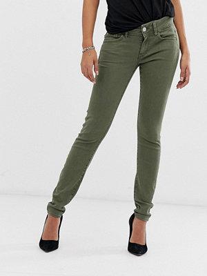 G-Star Lynn Skinny jeans med mellanhög midja Dk shamrock-grön