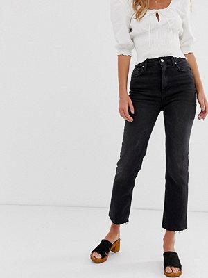 Free People Kick flare jeans med hög midja