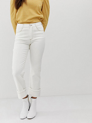 Current Air Raka jeans med djupkant vikning