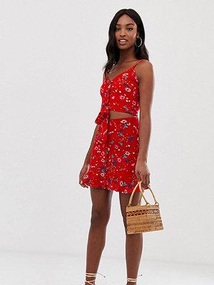 Parisian Tall Blommig minikjol