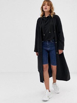 Weekday Blå jeansshorts i lång modell Peraltablå