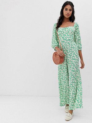 Capulet Manzanita Blommig jumpsuit Apple green floral