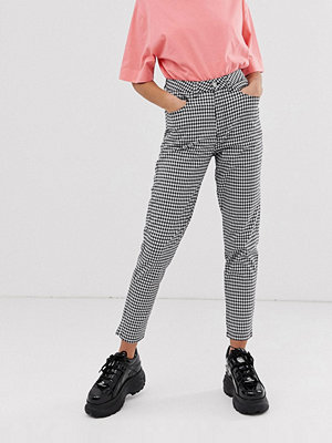 Uncivilised Ginghamrutiga mom jeans Gingham