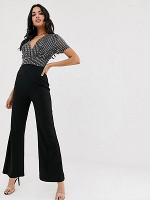 Girl In Mind Jumpsuit med paljetter