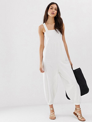 Jumpsuits & playsuits - ASOS DESIGN Minimalistisk jumpsuit i jersey med smala axelband