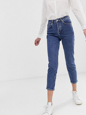 Selected Femme Mom jeans Mellanblå