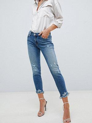 Jeans - J Brand Sadey Trasiga jeans med rak skärning Ardent