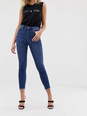 Sass & Bide Fransiga skinny jeans med hög midja Indigo