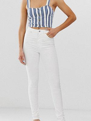 Monki Vita skinny jeans i ekologisk bomull med hög midja