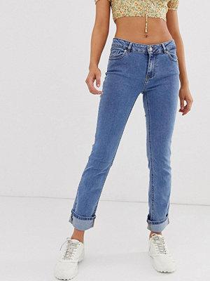 Pimkie Blå jeans med uppvikta ben Blå