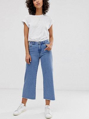Only Jeans med vida ben