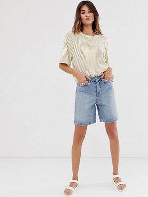 Selected Femme Mom shorts i longline