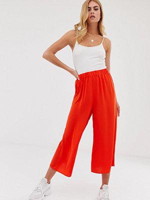 ASOS DESIGN Easy Culotte-byxor med elastisk midja