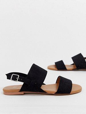 Monki Sandaler med dubbla elastiska remmar