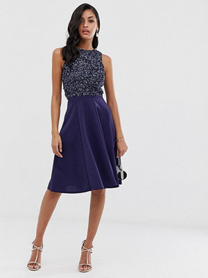 Closet London Closet Panelsydd kjol i scubamaterial