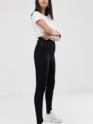 Dr Denim Tall Moxy Superskinny jeans med hög midja