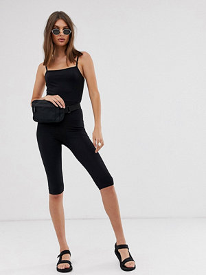 Jumpsuits & playsuits - Weekday Svart bodycontrikå i jersey