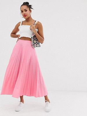 Glamorous Plisserad midaxi-kjol