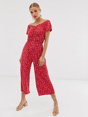 Jumpsuits & playsuits - Boohoo Röd
