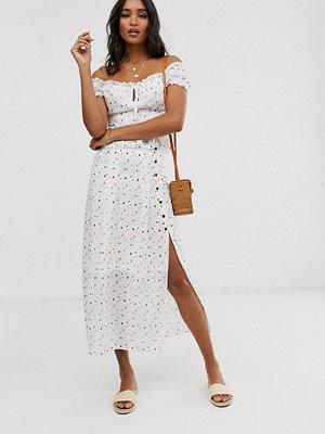 Unique21 Hjärtmönstrad kjol Hjärtmönster