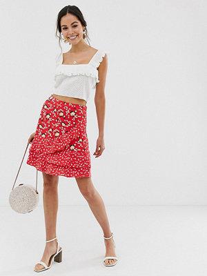 Oasis Småblommig kjol i flera lager
