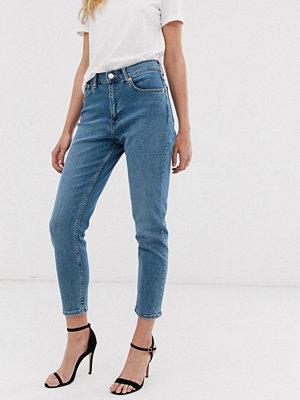 Mango Blå mom jeans