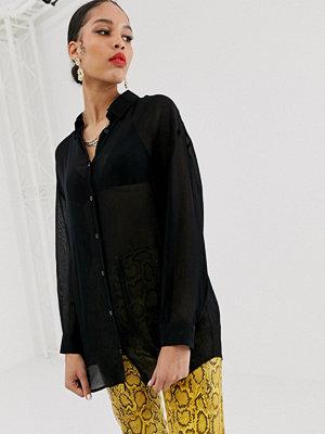 Skjortor - Bershka Svart skjorta