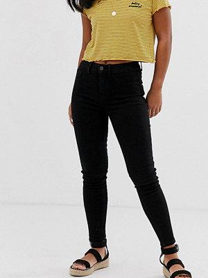 New Look Petite Svarta skinny jeans Svart