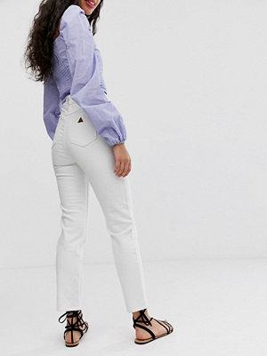Abrand Denim Abrand A Slim jeans i 94-talsmodell med hög midja Zink