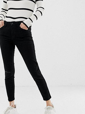 Bershka Svart ankellånga skinny jeans