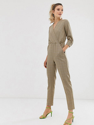 Closet London Closet Jumpsuit med puffärm