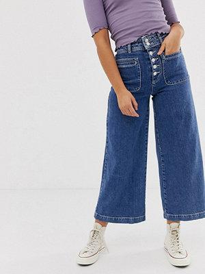 Free People Colette Vida jeans Indigoblå