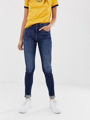Tommy Jeans Santana Skinny jeans med hög midja Oreg dk bl str