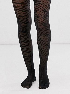 Gipsy Skira tights med zebramönster