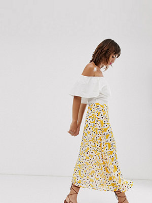 Ichi Blommig a-linjeformad kjol Mango mojoti