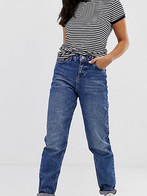 Urban Bliss Skinny jeans med hög midja Mörkblå