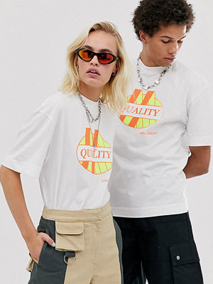 Collusion Unisex T-shirt med tryck