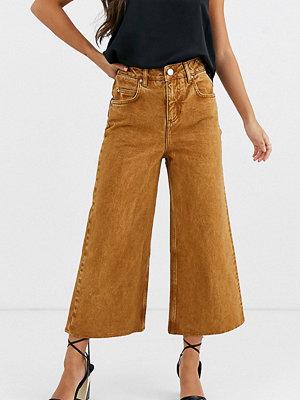 ASOS Petite Premium Senapsgula vida jeans