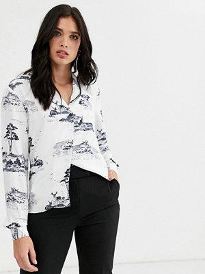 Toppar - Warehouse Mönstrad skjorta