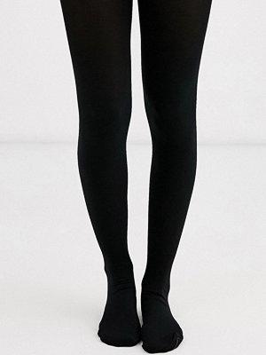 New Look Svarta tights i 2-pack av premium 120 denier