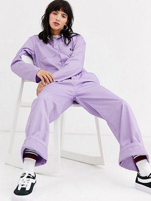 Jumpsuits & playsuits - Dickies Avslappnad overall Syrenlila
