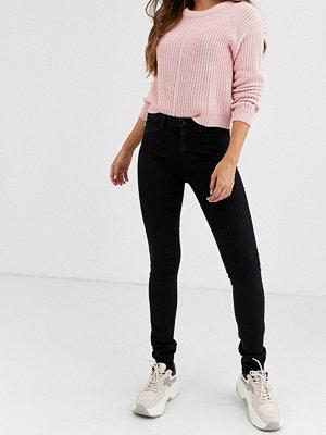Jeans - Love Moschino Skinny jeans med logga framtill 625w mid blue denim