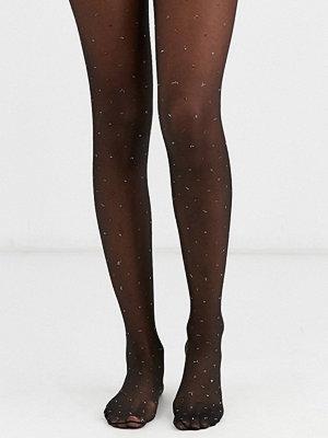 ASOS DESIGN Prickiga metallic tights