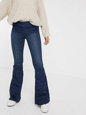 Free People Penny Flared jeans Jeansblå