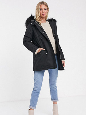 New Look Maternity Svart parkas