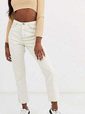 Missguided Tall Wrath Gräddvita straight jeans